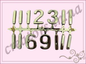 цифры арабские 33 мм