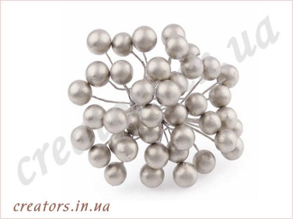 Ягоды гладкие, серебро
