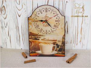 часы кухонные кофе