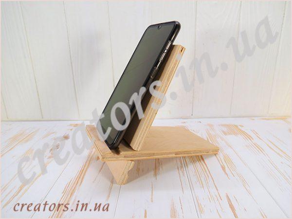 подставка для телефона фанера