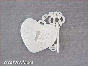 Сердце с ключиком B-38