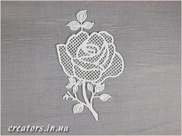 гибкий декор роза К-89