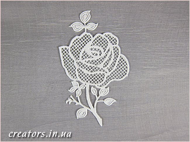гибкий декор роза