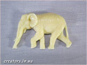 накладной декор слон