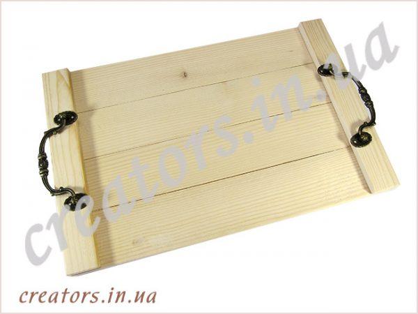 поднос деревянный