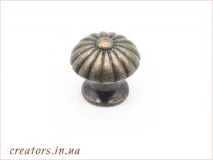 ручка кнопка бронза