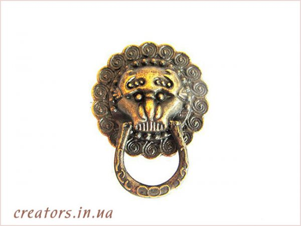 ручка голова льва