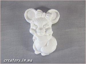 гипсовая заготовка мышка
