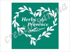 трафарет Herbs de Provence