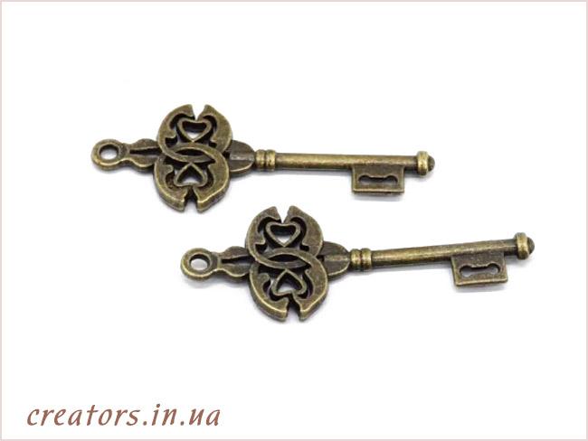 подвеска ключ для декупажа