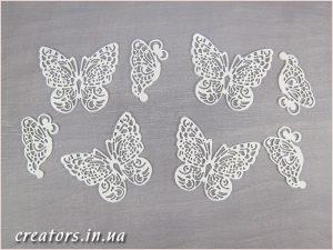 набор бабочки из силикона